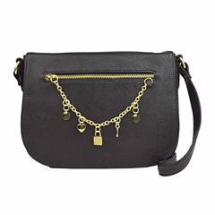 Liz Claiborne Jenny Flap Crossbody Bag