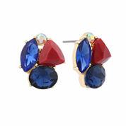 Liz Claiborne Multi Color Stud Earrings