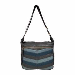 St. John's Bay Chevron Convertible Shoulder Bag