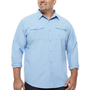 Columbia Button-Front Shirt-Big and Tall