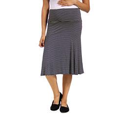 24/7 Comfort Apparel Full Skirt-Plus Maternity