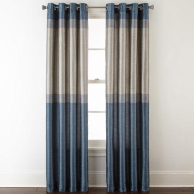 studio quintet lined grommettop curtain panel
