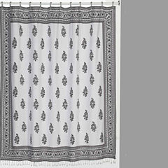 Nomad Cotton Shower Curtain