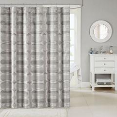 Madison Park Matteo Jacquard Shower Curtain