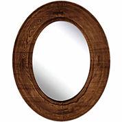 Natural Brown Wood Mirror