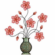 Flowers In Vase Wall Decor