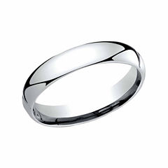 Unisex Platinum Wedding Band