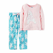 Carter's Girls Long Sleeve Kids Pajama Set-Baby