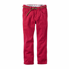 Carter's Girl Red Woven Pant 4-8