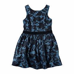 Carter's Short Sleeve A-Line Dress - Toddler Girls
