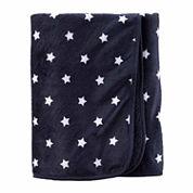 Carter's Boy Navy Plush Blanket