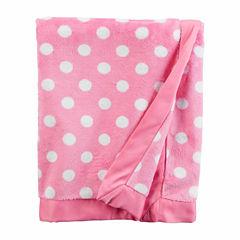 Carter's Girl Pink Dot Blanket