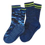 3-pk. Climate Smart Camo Socks-  Boys