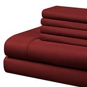 Cathay Home Microfiber Sheet Set with Bonus Pillowcases