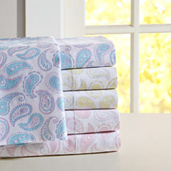 Mi Zone Cotton Paisley Sheet Set