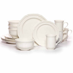 Mikasa Antique White 16-pc. Dinnerware Set