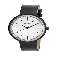 Simplify Unisex Gray Strap Watch-Sim3008