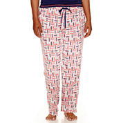 Sleep Chic® Cotton Sleep Pants - Plus
