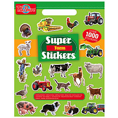 Super Farm Stickers Activity Book