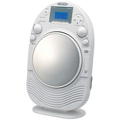Jensen JCR-525 AM/FM Stereo Shower Radio with CD Player