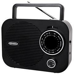 Jensen MR-550-BK Portable AM/FM Radio Black