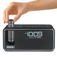 iHome iKN95 Kineta Bluetooth Dual Charging Alarm Clock Radio with Speakerphone