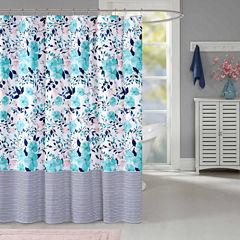 Intelligent Design Tiffany Shower Curtain