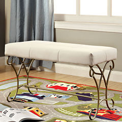 Charmed Metal Bench