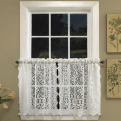 lace white curtains & drapes for window - jcpenney