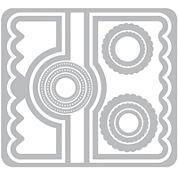 Sizzix® Framelits Circle #2 Flip-Its Card 11-pc. Nested Die Set