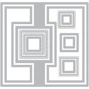 Sizzix® Framelits 12-pc. Nested Die Set - Square #2 Flip-Its Card