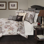 Marquis by Waterford® Jalise Paisley 4-pc. Jacquard Comforter Set