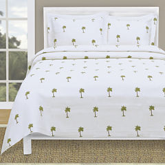 Lamont Home® The Palm Tropical Coverlet