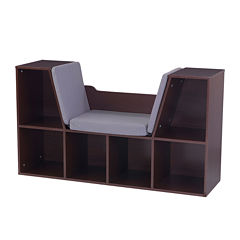KidKraft® Bookcase with Reading Nook - Espresso