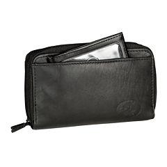 Buxton® Heiress Double Zip Indexer Wallet