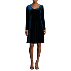 Jump Apparel Long Sleeve Sheath Dress-Talls