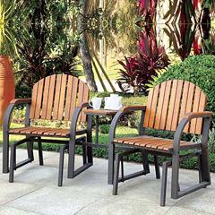3-pc. Patio Rocking Chair