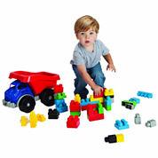 Amloid Kids Big Block Dump Truck With Blocks
