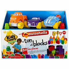 Amloid Kids 80 Piece Auto Shellz Deluxe Set