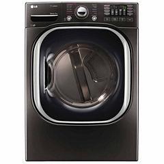 LG 7.4-Cu.Ft. Ultra-Large Capacity TurboSteam™ Gas Dryer