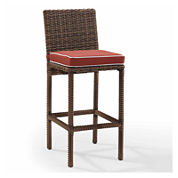 Bradenton Wicker 2-pc. Patio Bar Stool