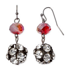Mixit™ Red Fireball Drop Earrings