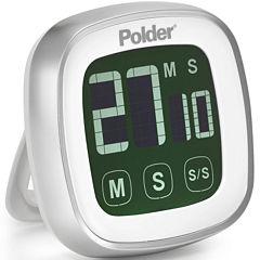 Polder® Digital Touch-Screen Timer