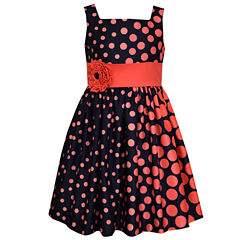 Bonnie Jean Sleeveless Drop Waist Dress - Toddler Girls