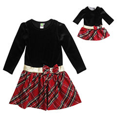 Young Land Legging Set-Preschool Girls
