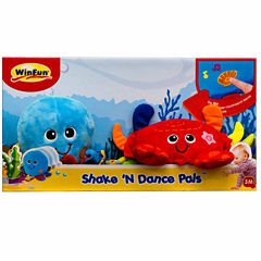 Winfun Shake'N Dance Octopus And Crab Stuffed Animals
