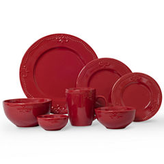 JCPenney Home Scroll 56-pc Dinnerware Set