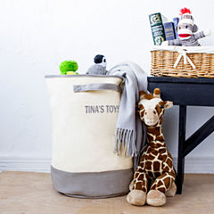 Cathy's Concepts Personalized Round Storage Hamper