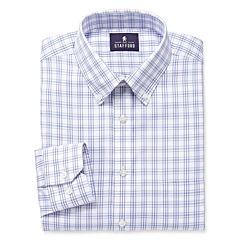 Stafford® Executive Long-Sleeve Pinpoint Oxford Dress Shirt - Big & Tall