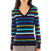 Worthington® Ribbed Cardigan Sweater or Modern Trouser Pants - Petite